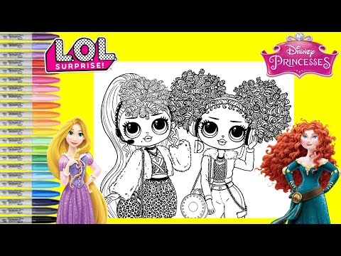 lol-surprise-o.m.g-dolls-repainted-as-disney-princess-rapunzel-and-merida-lol-surprise-omg-makeover