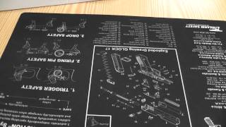 Glock Gunsmiths Pistol Cleaning Bench Mat