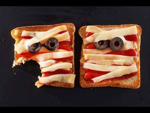 Halloween Recipes For Kids Monster Sandwiches Youtube