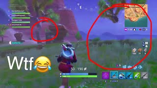 Fortnite - WTH! INVISIBLE Tree glitch? MUST WATCH! FORNITE SEASON 5