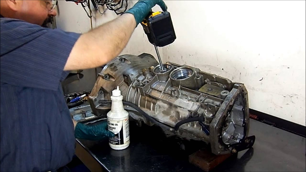 Broken Bolt Removal >> 5R55W Transmission Servo Bore Repair - Transmission Repair - YouTube