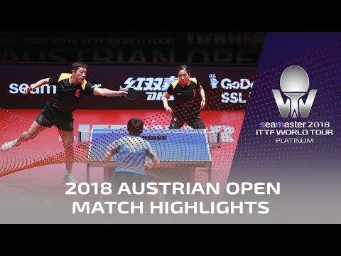 Xu Xin/Liu Shiwen vs Chen Chien-An/Cheng I Ching   2018 ITTF Austrian Open Highlights ( Final )