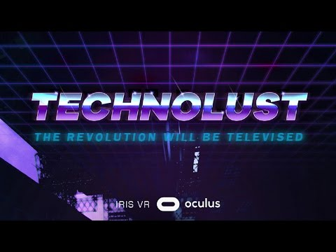 Technolust VR #1| CYBERPUNK Adventure Game! (HTC Vive Gamepl