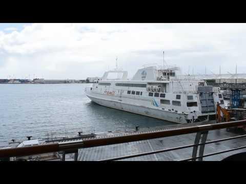 Papeete, Tahiti, French Polynesia - Papeete Ferry Terminal HD (2017)