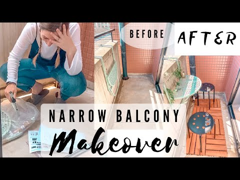 Decorating my narrow balcony - Daiso finds ? (VLOG) 狭いバルコニーの装飾をやってみた from YouTube · Duration:  13 minutes 48 seconds
