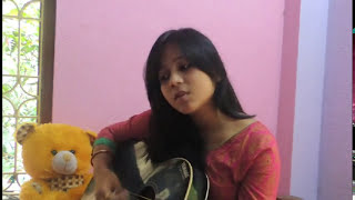 Tanha dil (Shaan) acoustic cover by Priyanka