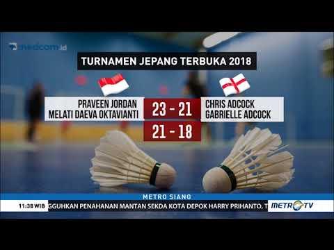 Wow ! Tundukkan Ganda Unggulan Inggris, Praveen/Melati Lolos Ke Perempat Final Jepang Terbuka 2018 Mp3