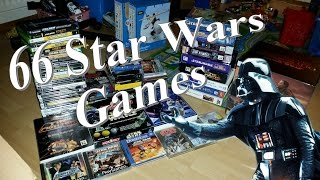 66 Star Wars games: My collection that was
