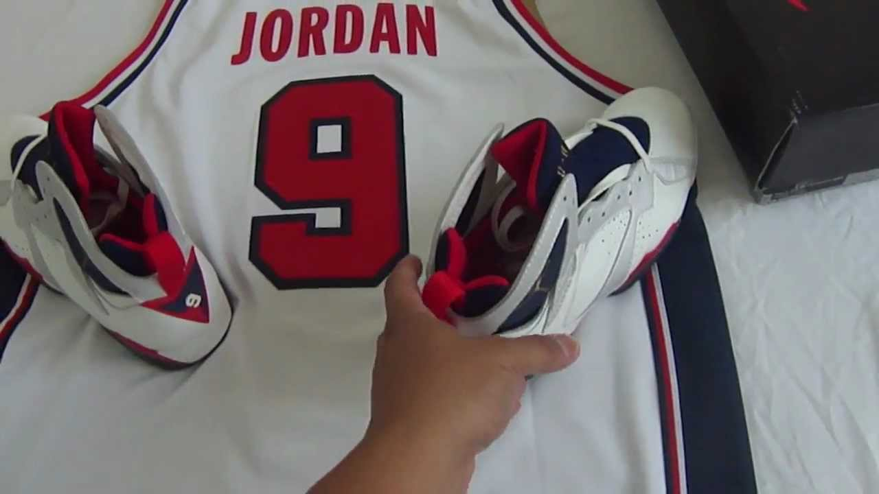 buy popular 438b5 a4c99 1992 Original Air Jordan VII OG Olympic 7