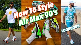HOW TO STYLE NIKE AIR MAX 90 SNEAKERS - NIKE LOOKBOOK