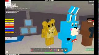 Roblox:FIVE NIGHTS OF FREDDY:(volim ovu igricu)ep:2