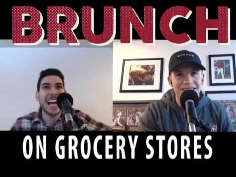 Male Bonding At Grocery Stores -- BRUNCH