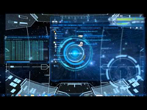 Hd wallpaper jarvis - Jarvis Iron Man Gui 1a Parte Youtube
