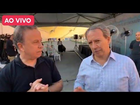 Ao Vivo: Secretário Municipal da Saúde da cidade de São Paulo