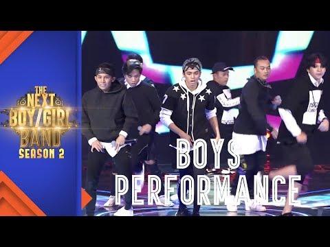 "Team Boys Performance ""Rain"" I Episode 8 I The Next Boy/Girl Band S2 GTV"