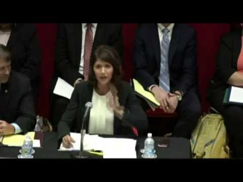 Noem Delivers Remarks at Indian Affairs Committee Hearing on Tribal Health Crisis