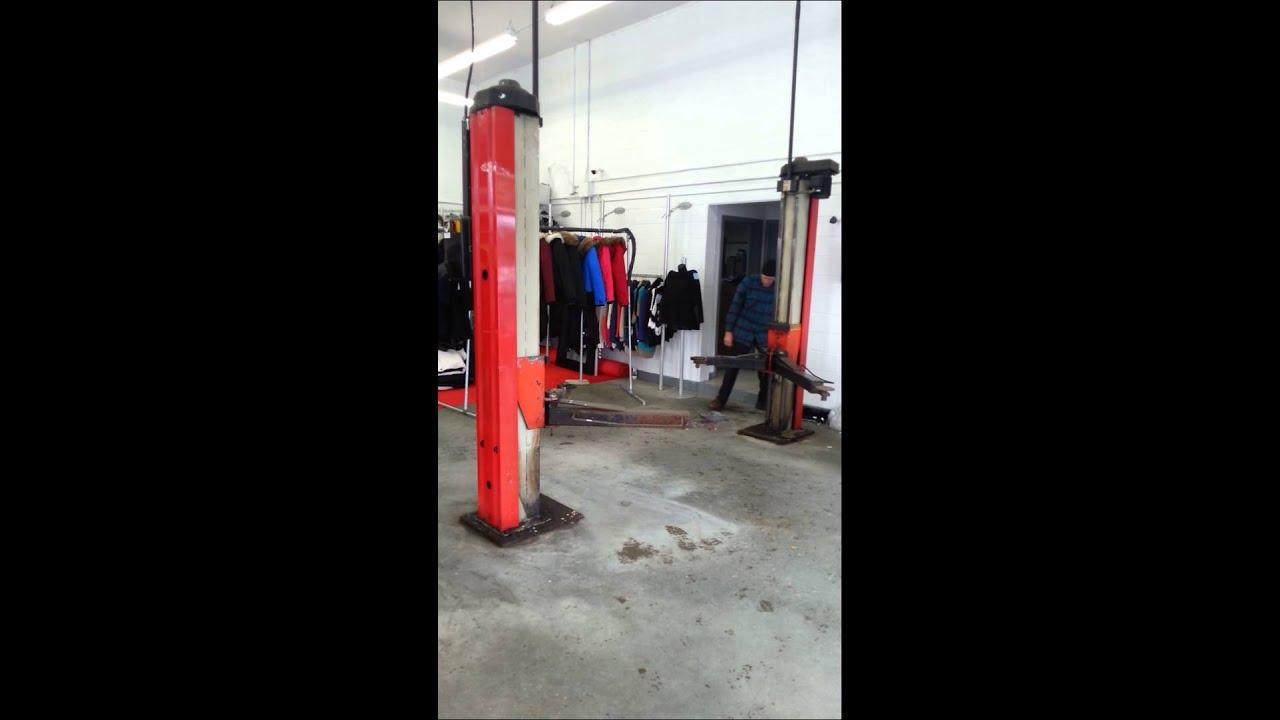 lift mecanique pour auto 9000lb youtube
