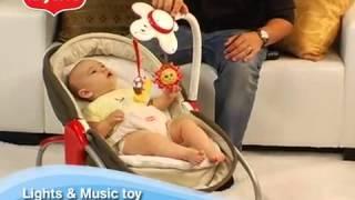 видео Люлька баунсер 3 в 1 tiny love