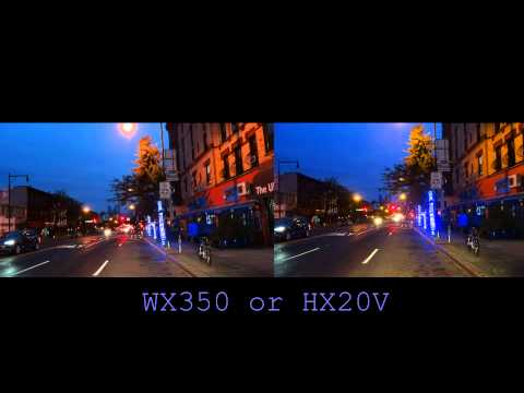 My steal of a deal Sony HX20V compared to WX350