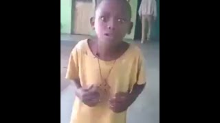 Ethiopian Funny Video:This kid did it again (ናማ)