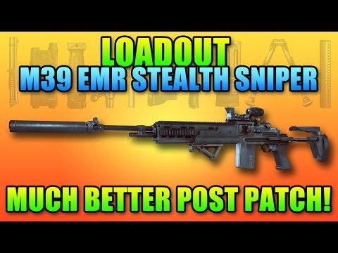 BF4 Loadout M39 EMR Silent Sniper!   Battlefield 4 DMR