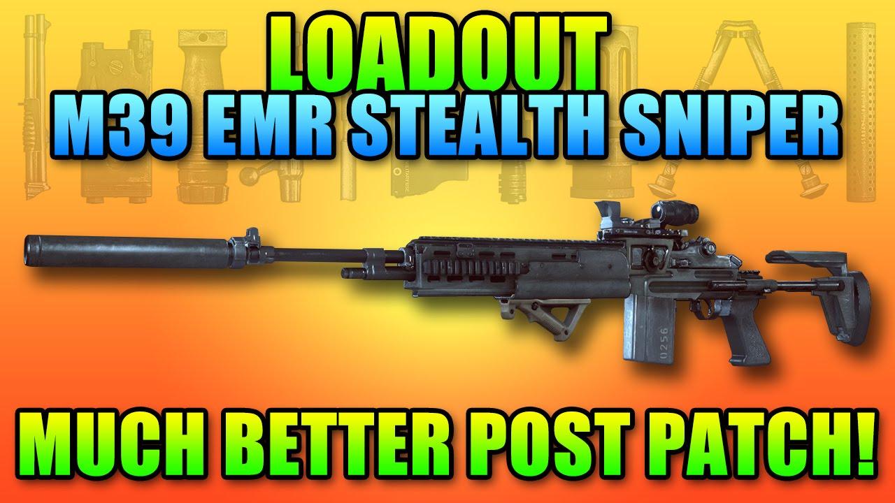 BF4 Loadout M39 EMR Silent Sniper! | Battlefield 4 DMR