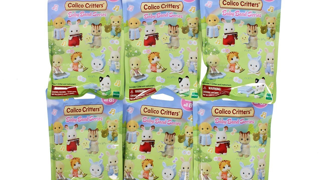 Sylvanian Families Calico Critters Baby Band Series Mystery Bag