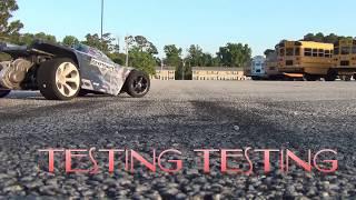 1s ..TEST AN TUNE,  KRYPTONITE. //RC StreetOutlawz 252  , Brushless ,Drag Racing 132ft. Maxamps
