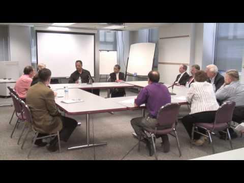 Jesse Jackson visits Rockford Register Star Editorial Board part 6 of 7