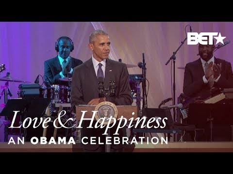 Obama Thanks BET | Love & Happiness, an...