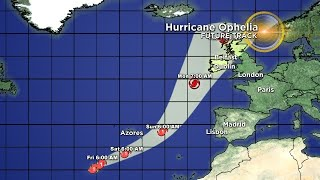 Tracking Hurricane Ophelia 10/12 9AM