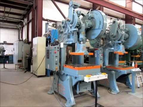 60 TON FEDERAL PUNCH PRESS #3969 FOR SALE - ALMA MACHINERY CO