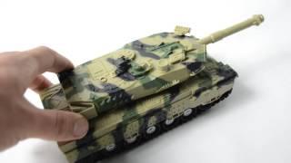 Іграшка танк іграшковий інерційний зі звуком і світловими ефектами 24см.