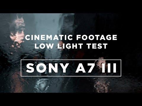 Hamburg at Night | Sony A7 III Cinematic Test Footage (Low Light) / Sony 16-35 f4 / Sony 55 f 1,8