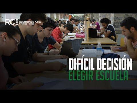 ¡ELEGIR ESCUELA, DIFÍCIL DECISIÓN!