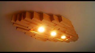 Designer Lampe Modern Style selber machen