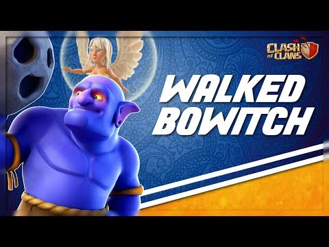 Walked BoWitch Town Hall 10 Attack Strategy - Clash of CLans