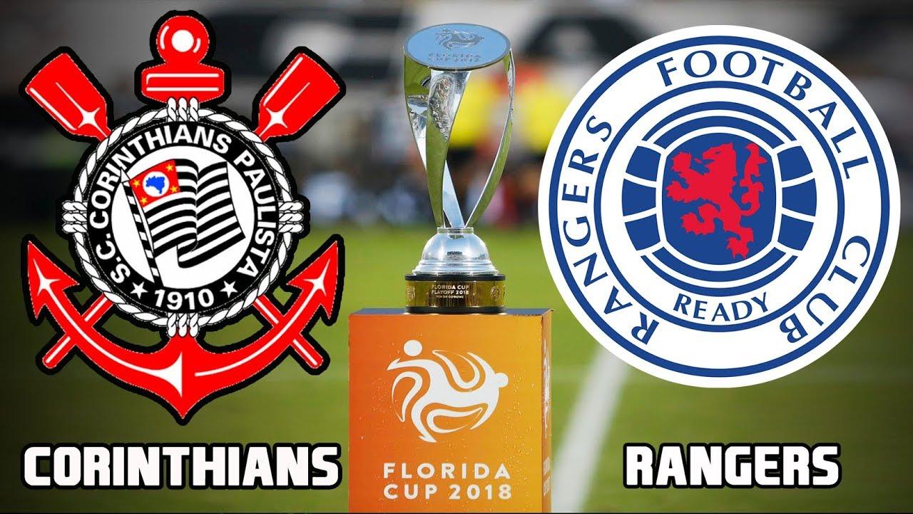 Resultado de imagem para Corinthians x Rangers - Flórida Cup