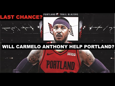Sources: Carmelo signing deal with Trail Blazers