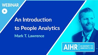 An Introduction to People Analytics | AIHR [WEBINAR]
