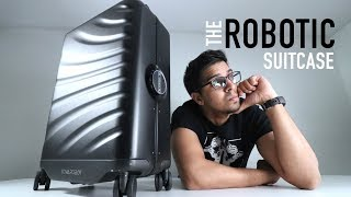 UNBOXING & LETS TRY - Rover Speed aka THE ROBOTIC SUITCASE by Cowarobot  - FULL REVIEW!