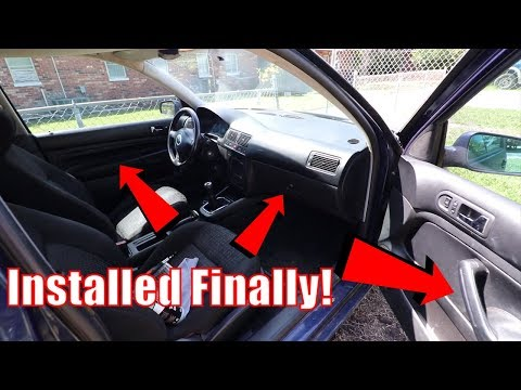 Mk4 GTi Interior is ALMOST done! | Future Plans
