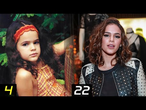 BRUNA MARQUEZINE Transformation - From 4 To 22 Years | Then and Now | Childhood | Before famous