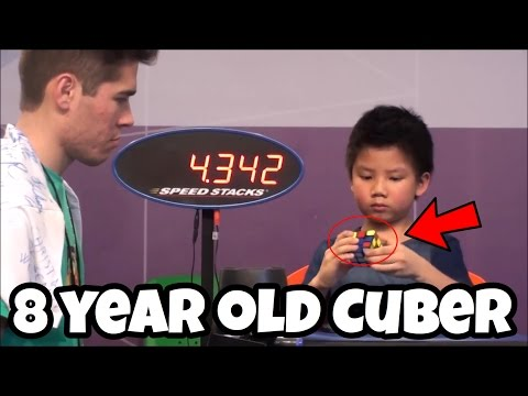 Chan Hong Lik Is A Beast! (8 Year Old Cuber)