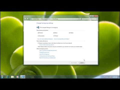 Windows 7:How to share Files