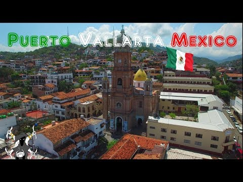 Puerto Vallarta, Mexico - Top drone footage