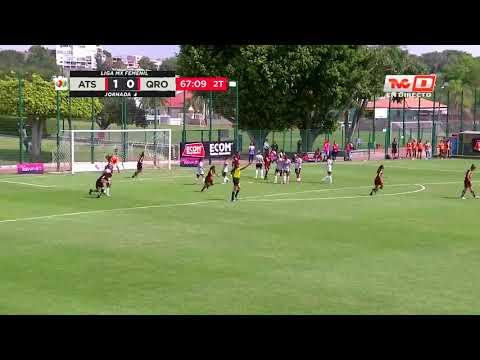 Gol de C. Ibarra | Atlas Femenil 2 - 0 Querétaro Femenil | Clausura 2020 J4 | LigaBBVAMXFemenil