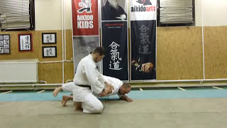 suwari waza shomenuchi ikkyo omote [TUTORIAL] Aikido basic technique