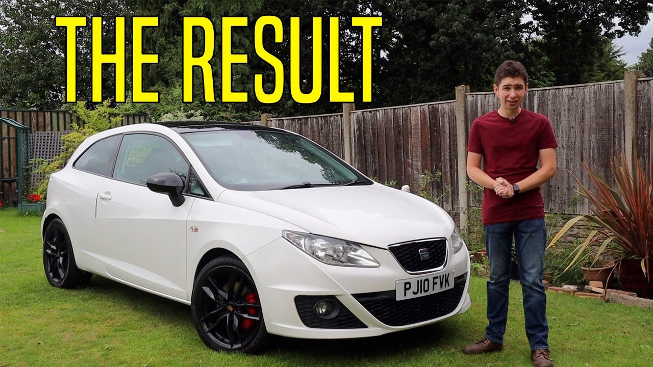 Fixing Up The Seat Ibiza - Part 2: The Result - Running Down A Dream