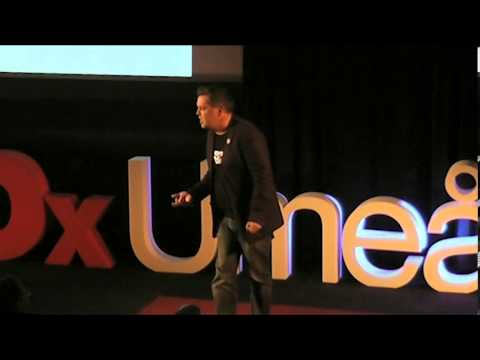 A taste of leadership: Alf Rehn at TEDxUmea